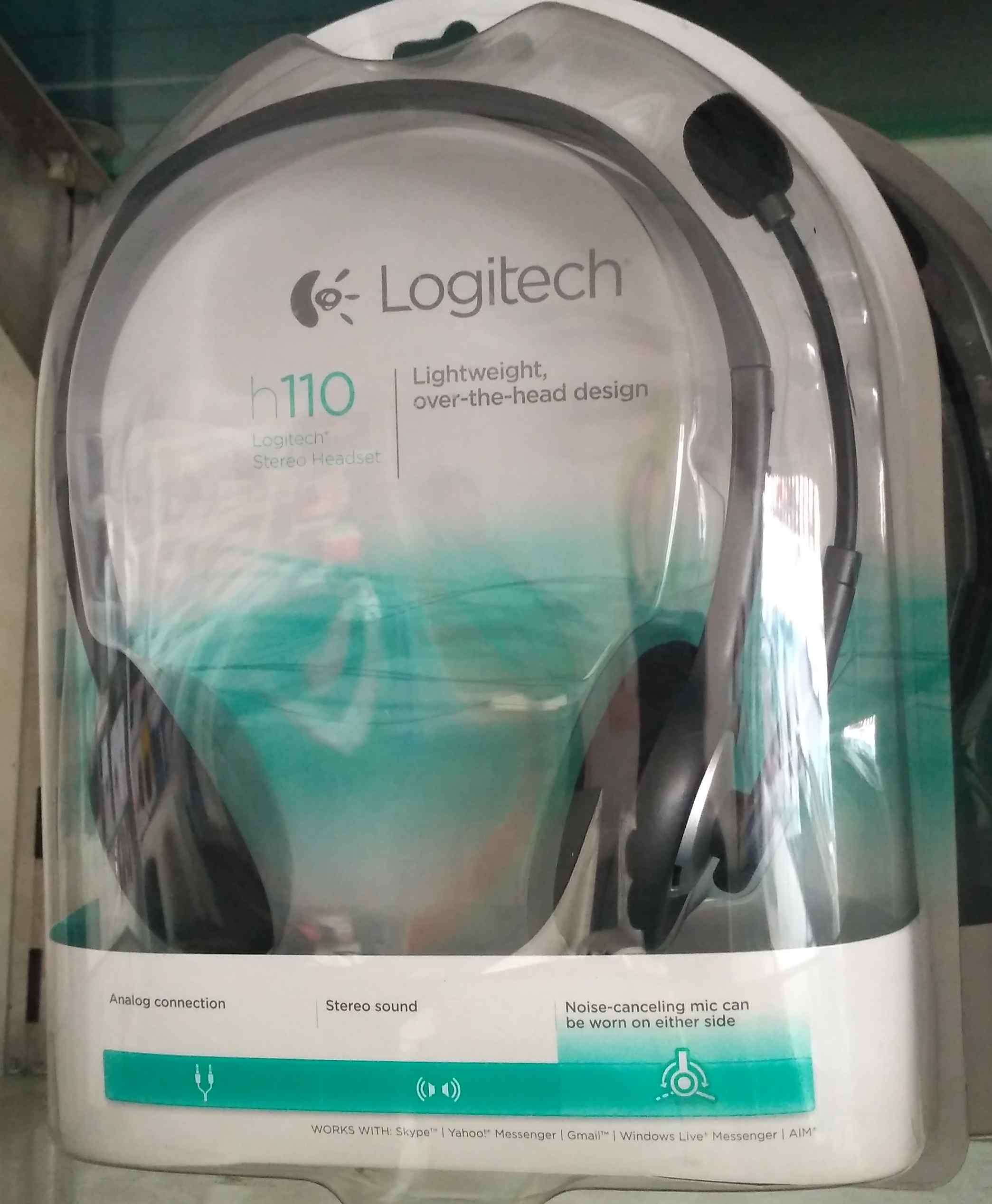 Logitech H110 Headset In Hyderabad Buynuse Stereo Photo Of Product